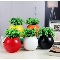 Vazon ceramic pentru flori