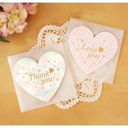 "Felicitare "" Heart """