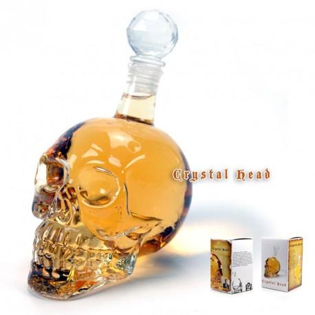 Sticla in forma de Craniu
