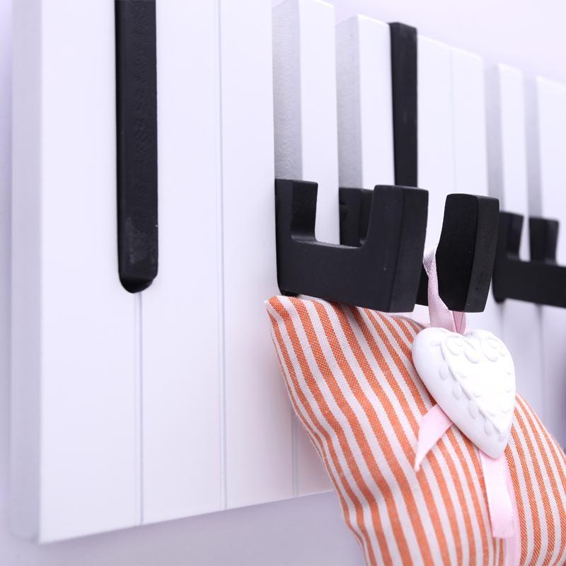 Вешалка piano своими руками 16