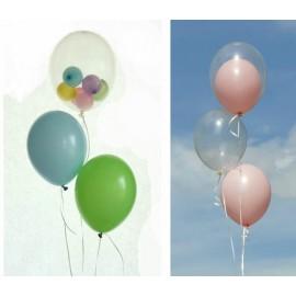 Balon in balon cu  heliu