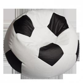 """Bean Bag Soccer Ball """"Fotbalul Big White & Black"""""""