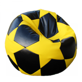 "Scaun Soccer Ball ""Football BIG STAR Black&Yelow"""