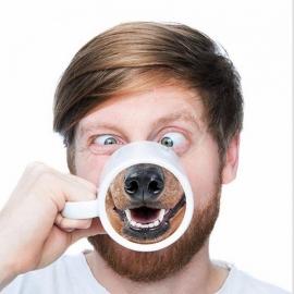 """Чашка """"Собачья морда"""""""