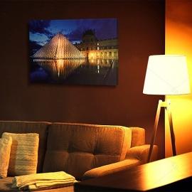 Tablou LED Louvre