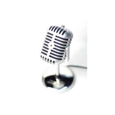 Retro microfon