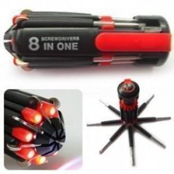 Surubelnita multifunctionala cu LED (8 in 1)