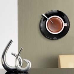 """Ceas de perete """"Ceasca de cafea"""""""