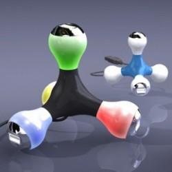 """Multiplicator de port USB """"Molecula"""""""