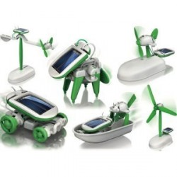 6 in 1 Solar Robot Kit educational