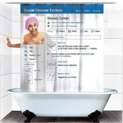 Perdica creativa pentru baie