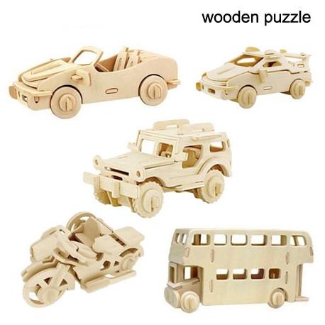 """Puzzle lemn """" Auto """""""