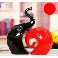 Elefanti decorativi ceramici