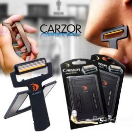 "Бритва - визитная карточка ""Carzor"""
