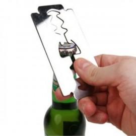 """Открывалка для бутылок в форме """"Лезвия"""""""