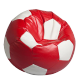 "Bean bag ""fotbal-mediu Red & White"""