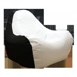 Бескаркасное кресло HiPoly Black&White
