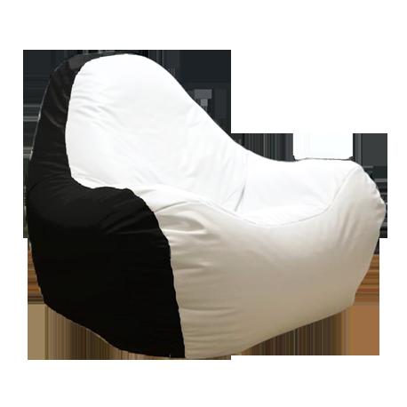 Scaun fără ramă HiPoly Black & White