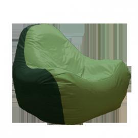 Бескаркасное кресло HiPoly Green&Pistachio