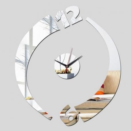Ceas de perete Yin si Yang