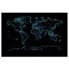 """Harta """"Scratch Glow Map"""""""