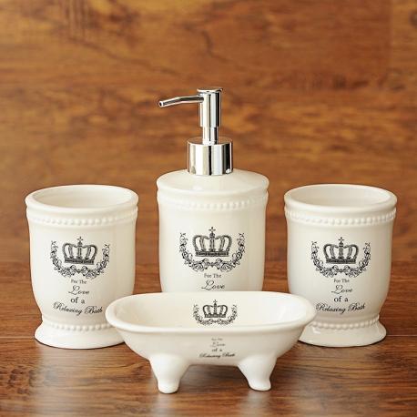 Керамический набор для ванной комнаты