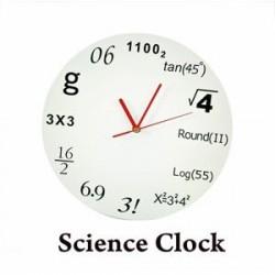 """Настенные часы GeekCook """"Формула"""""""