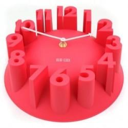 Настенные часы с цифрами 3D