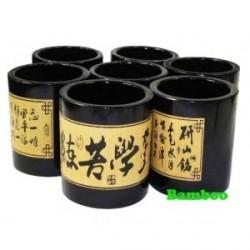 Подставка бамбуковая для ручек SP-00