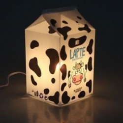 """Лампа-ночник  """"Пастеризованное молоко"""""""